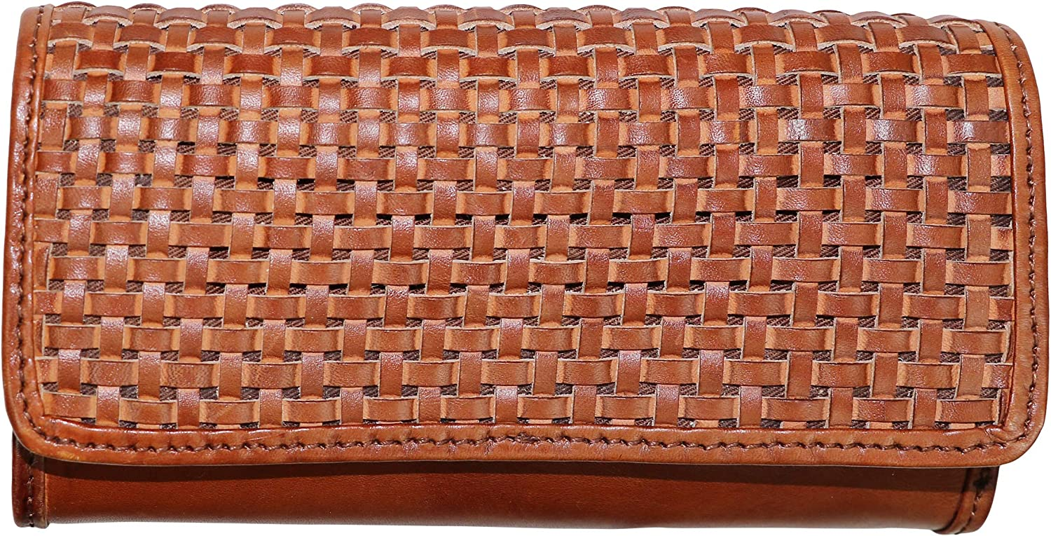 Patricia Nash Woven Flap Terresa Clutch Wallet Purse