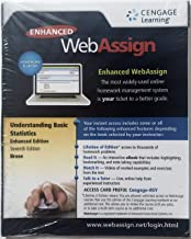 WebAssign Printed Access Card for Brase/Brase's Understanding Basic Statistics, Enhanced, 7th Edition, Single-Term