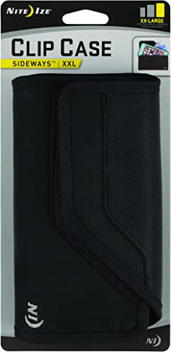 Nite Ize Clip Case Sideways Phone Holster - Protective, Clippable Phone Holster For Your Belt Or Waistband - XX Large...