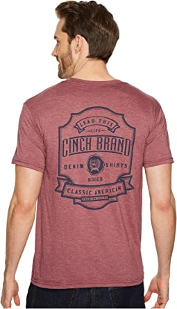 Cinch - Short Sleeve Jersey Tee