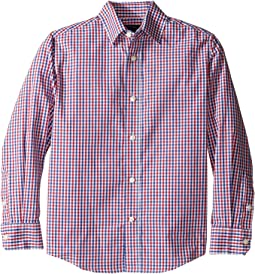 Alternating Gingham Shirt (Big Kids)