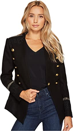Military Jacket with Shoulder Patch