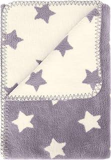 kids&me flauschige Babydecke aus Bio-Baumwolle - warme und kuschelige Baumwolldecke kbA für Herbst und Winter - Wärme und Geborgenheit für dein Baby – 100% Made in Germany - OEKO-TEX zertifiziert
