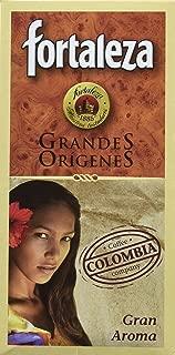 Café Fortaleza Café Molido Grandes Orígenes Colombia - 250 gr - [Pack de 4]