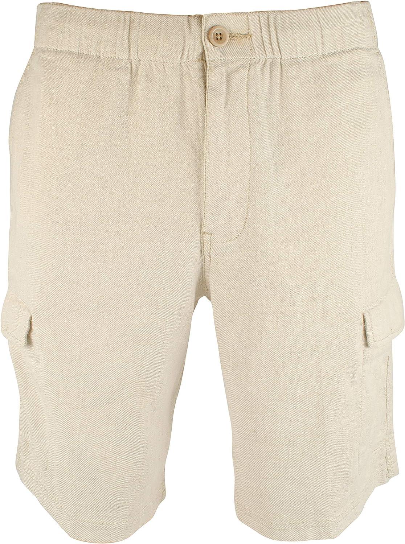 Tommy Bahama Men's Beach Linen 10-Inch Cargo Shorts