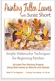 Painting Fallen Leaves in Watercolor with Susie Short