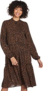 فستان هاربر للنساء من فيرو مودا باكمام طويلة