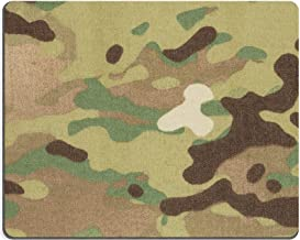Liili Mouse Pad Natural Rubber Mousepad Image ID: 20126833 Armed Force Multicam Camouflage Fabric Texture Background