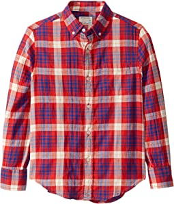 Weekend Plaid Red/Blue