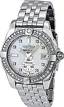 Breitling Unisex BTA3733053-A717SS Galactic Analog Display Swiss Automatic Silver Watch