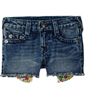 True Religion Kids - Bobby Printed Pocket Shorts (Big Kids)
