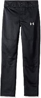 Boys' Clean Up Baseball Pants, Black/Baseball Gray, Youth Large