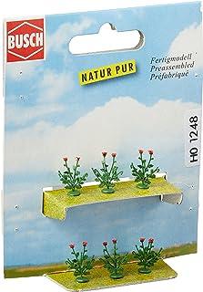 Busch 1248 Poppy Plants 6/ HO Scenery Scale Model Scenery