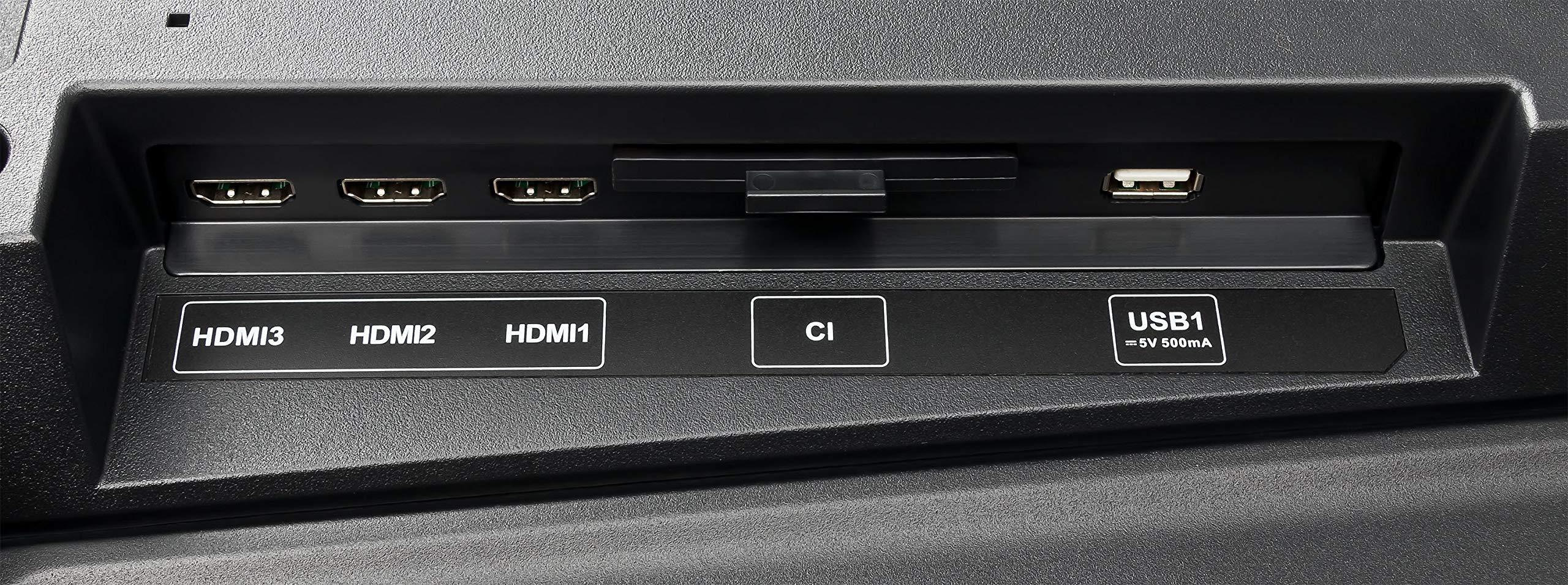 Coocaa - Televisor de 32 pulgadas (80 cm), triple sintonizador (LCD, HD Ready, HDMI, USB): Amazon.es: Electrónica