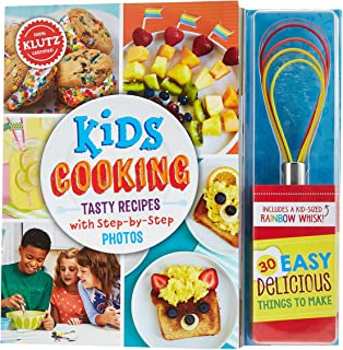 Klutz Kids Cooking Activity Kit Multicolor, 10 x 1.19 x 10 inches