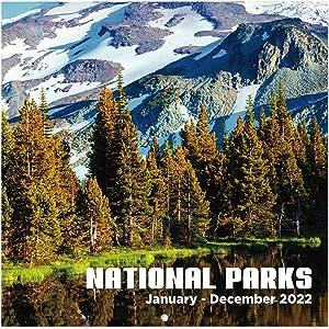 2022 Wall Calendar - Monthly Wall Calendar 2022, January 2022 - December 2022, 12