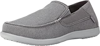 Crocs Mens Santa Cruz 2 Luxe Shoe Charcoal/Light Grey EU39.5