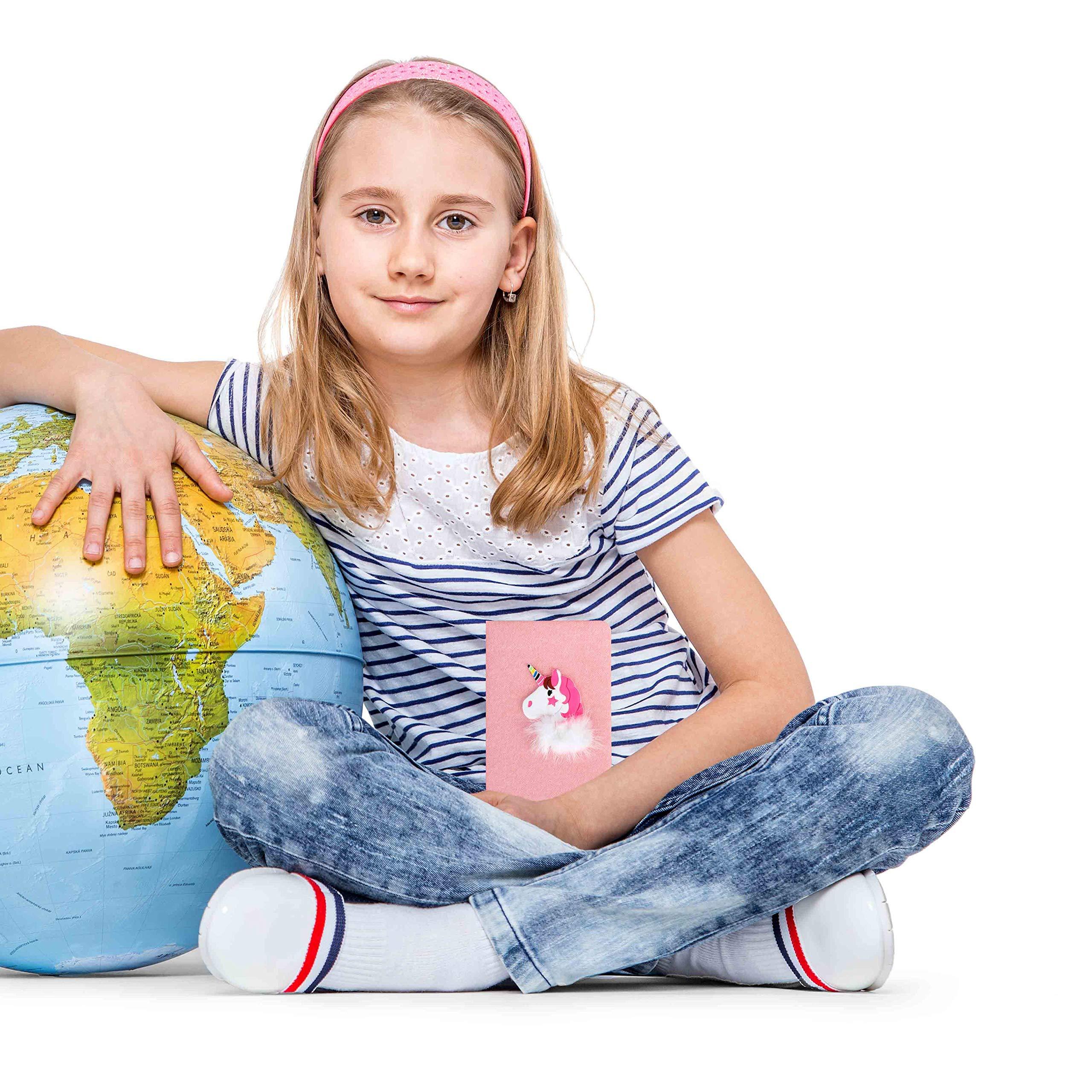 Diario Di Viaggio Appunti Carino Quaderno Fenicottero A6 Scatola Di Diario Con Penne In Gel Materiale Scolastico Di Cancelleria Regalo Per Bambini Studenti Ragazza Rosa
