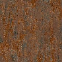 Vliesbehang Vintage behang vintage Bruin Zilver Oranje/Terracotta 326511 32651-1 A.S. Création Havanna   Bruin/Zilver/Oran...