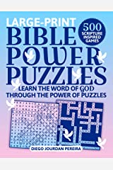Bible Power Puzzles: 500 Scripture-Inspired Games―Learn the Word of God Through the Power of Puzzles! (Large Print) ペーパーバック