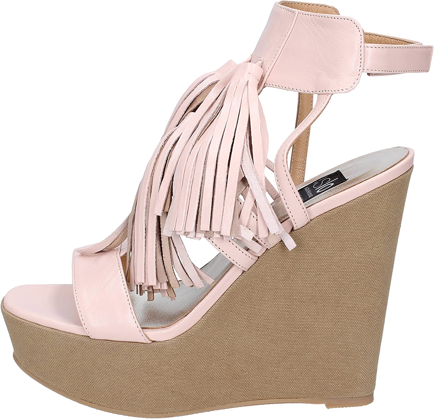 ISLO Sandals Womens Leather Pink