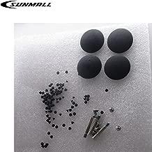 SUNMALL Screws Replacement For Macbook Pro Unibody A1278/A1286/A1297 Pack Rubber Feet 4pcs/set + Bottom Case Repair Replacement Screws 10pcs/set + Keyboard Screws 100pcs/set