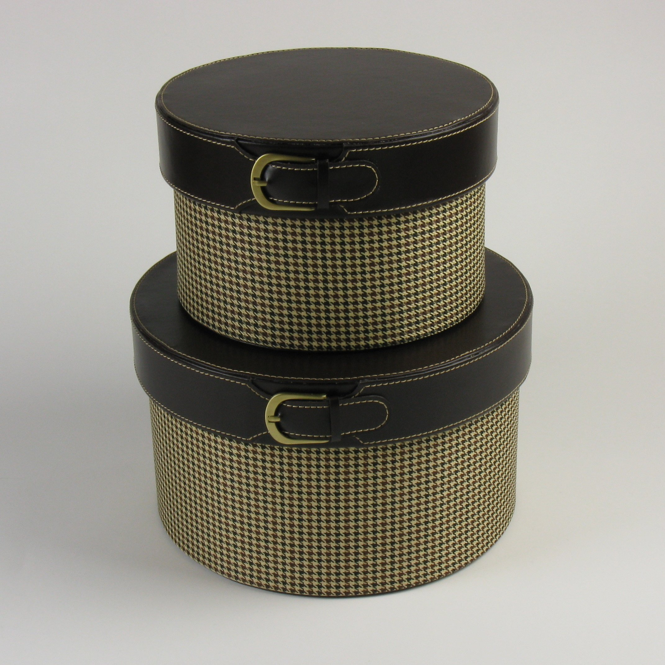 Sombrereras HYB - Set de 2: Amazon.es: Hogar