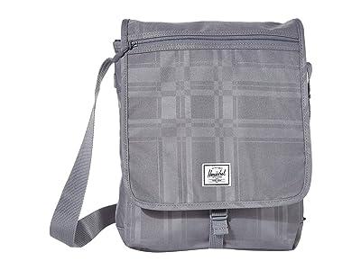 Herschel Supply Co. Lane (Quiet Shade Plaid) Messenger Bags