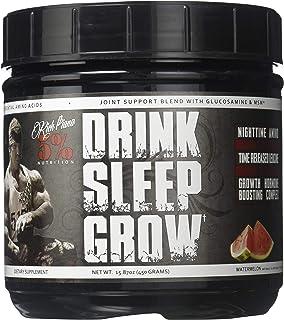 Rich Piana 5% Nutrition Drink Sleep Grow Nighttime Aminos (Watermelon) 30 Servings 15.87oz (450g)