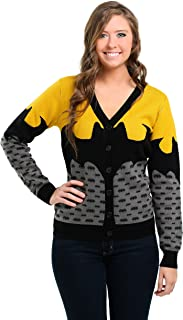 Womens Batman Ugly Christmas Cardigan
