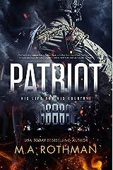 Patriot: A Suspense Thriller (A Connor Sloane Thriller Book 1) Kindle Edition