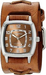 Nemesis Men's 017BFXBB Classic Vintage Series Analog Display Japanese Quartz Brown Watch