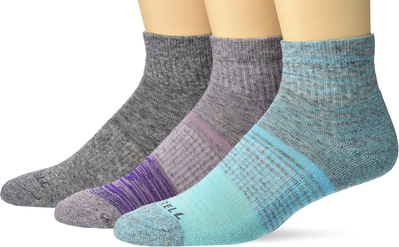 Merrell Men's Wool Blend Cushioned Hiker Socks