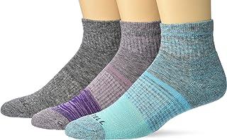 Merrell mens Wool Blend Cushioned Hiker Quarter Socks 3 Pair