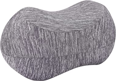 TRIXESKneePillow -ContouredKnee Support - Back Supports - Memory Foam Pillow -PregnancyMaternity Pillow - Bed Cushion P