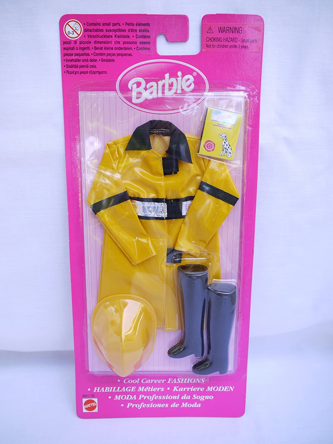 Barbie Cool Karriere Feuerwehr Uniform (1999)