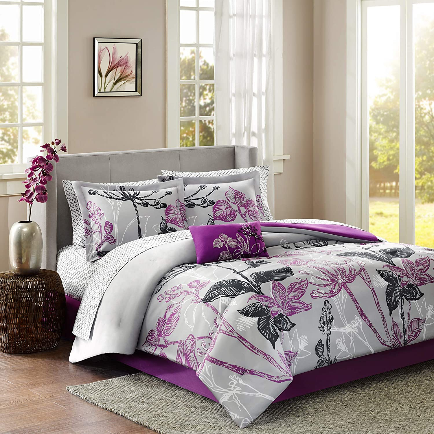 Madison Park Essentials MPE10-023 Claremont She It is very Sales for sale popular and Complete Bed