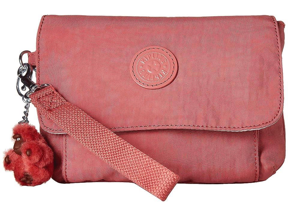 Kipling Selene Wristlet (Gleaming Rose) Wristlet Handbags