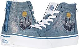 (Harry Potter) Sk8-Hi Zip Hogwarts/Metallic