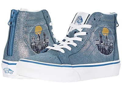 Vans Kids Vans x Harry Potter Sneaker Collection (Little Kid/Big Kid) ((Harry Potter) Sk8-Hi Zip Hogwarts/Metallic) Kids Shoes
