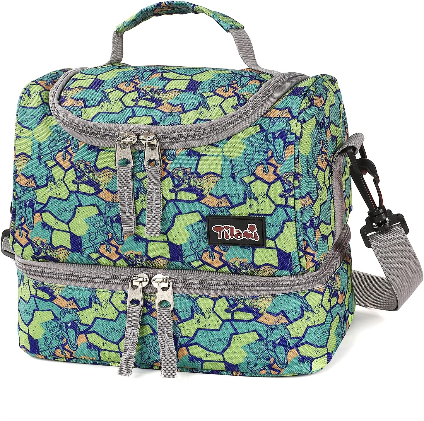 Tilami Lunch Bags Insulated Adjustable Strap Rare Water-Resis Max 75% OFF Zipper