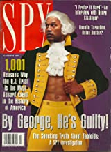 mag: SPY... 12/95... O. J. Simpson cover... 1001 Reasons Why the O. J. Trial Is the Most Absurd Event in the h/istory of A...