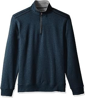 Van Heusen Men's Flex Long Sleeve 1/4 Zip Soft Sweater...