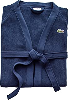 Lacoste Classic Pique 100% Cotton Bath Robe, 41.5