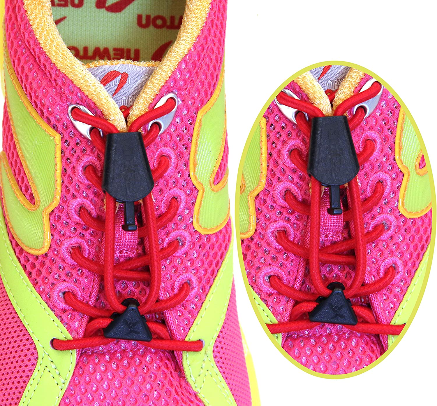 Yankz Laces - Raleigh Mall Elastic No Tie Shoelaces T Size One Fits All Complete Free Shipping