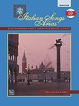 26 Italian Songs and Arias: Medium Low Voice, Book & CD