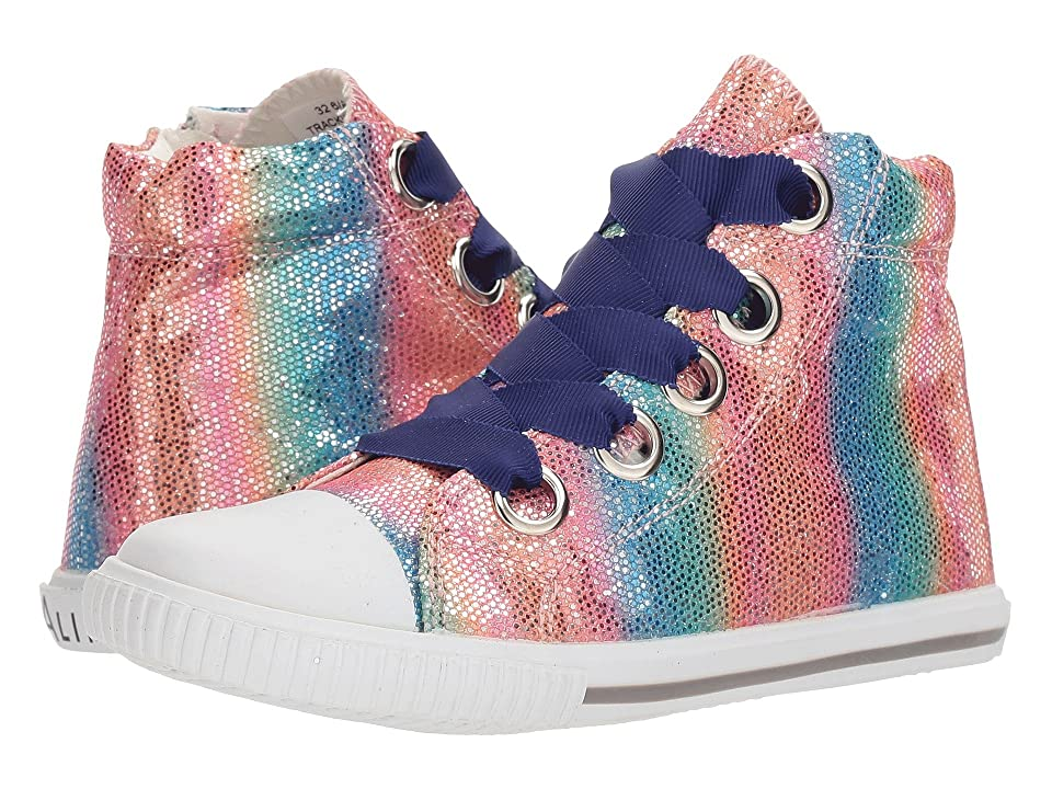 Amiana 6-A0920 (Toddler/Little Kid/Big Kid/Adult) (Blue Scale Glitter) Girl
