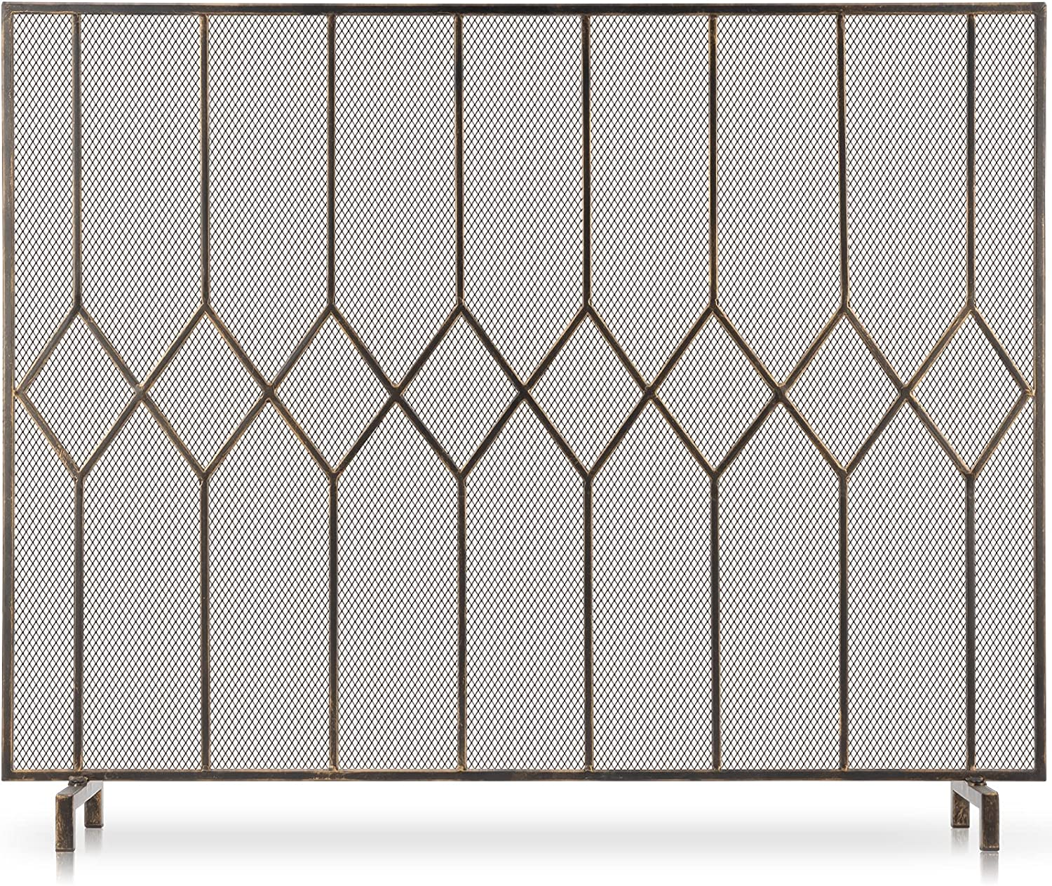 Cheap super special price Amagabeli Fireplace Screens for Burning Single Pa Popular products Wood