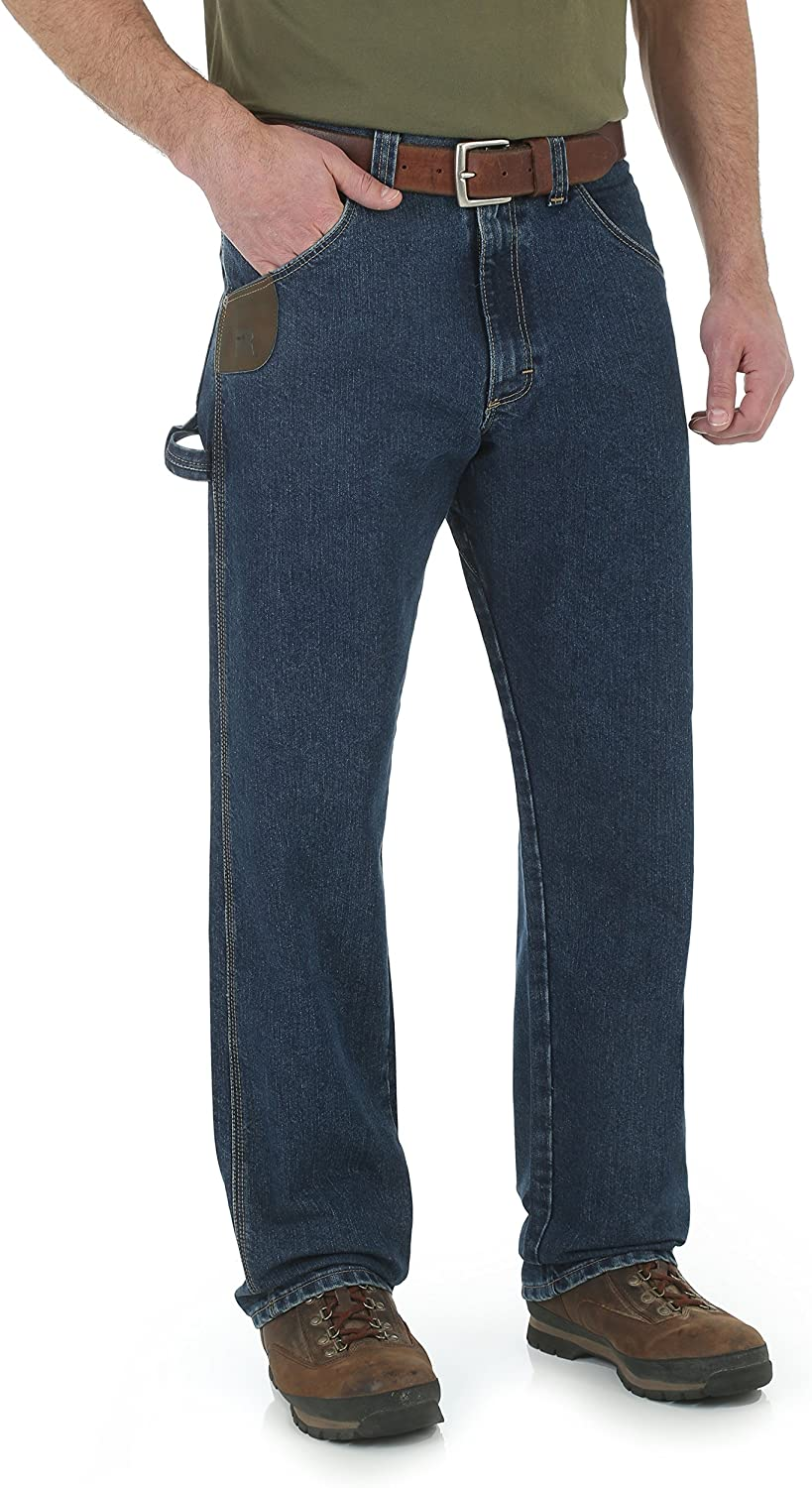 Wrangler Riggs Workwear Men's Jean Cool sold out Vantage Carpenter Max 61% OFF