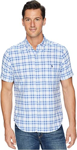 Button Down Short Sleeve Sport Shirt